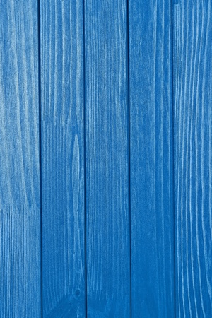 laths: abstract texture of the painted wooden surface of bright blue color Stock Photo