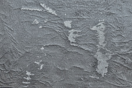 wornout: abstract texture of a shabby and worn-out old leather of silvery gray color Stock Photo