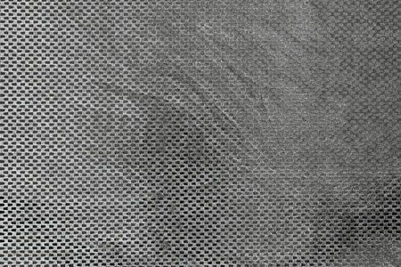 ashy: texture of checkered brilliant fabric of gray color for empty backgrounds Stock Photo