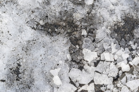 slush: slush abstraite � partir de morceaux de neige et de glace de couleur gris argent�