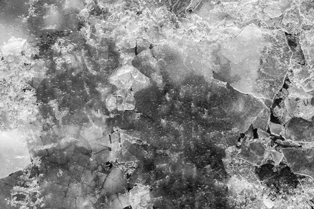 splinters: the abstract textured background from splinters of ice of gray color