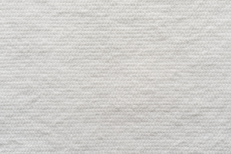 wadded: abstract texture of wadded fabric of white color for empty and pure backgrounds