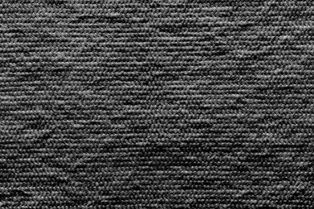 wadded: abstract texture of wadded fabric of black color for empty and pure backgrounds