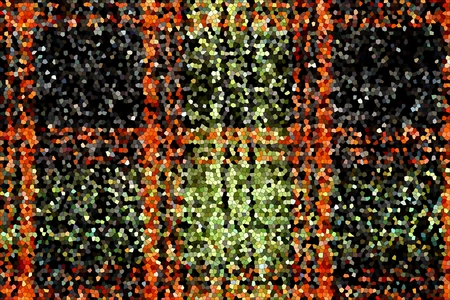 granules: grained grained texture of a checkered mosaic of black-red-green color for abstract backgrounds for stained and for wallpaper