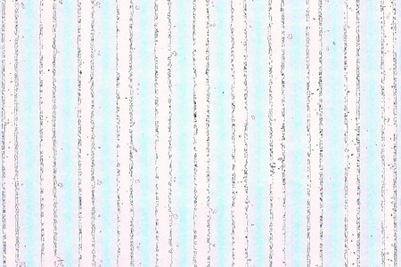 iridescent: iridescent striped pale pink green background with black thin strips of an abstract form Stock Photo