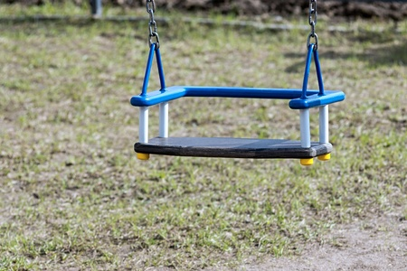 trample: seat from a children Stock Photo
