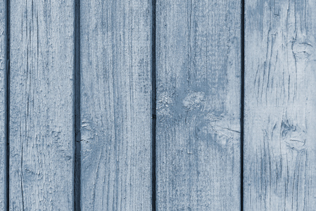 exfoliate: abstract texture of old wooden boards with the exfoliating peel of silvery coloring for abstract backgrounds Stock Photo
