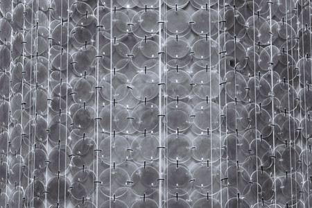 slur: abstract opaque glass or the crystal textured chandelier pattern for blinking sparkling a background and for wallpaper Stock Photo