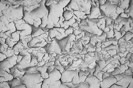 suelo arenoso: Textura gris abstracta para los fondos con grietas y con una c�scara del suelo arenoso arrugado Foto de archivo