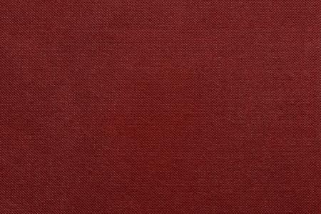 grooved: the grooved textured design of fabric with pile for the abstract background and for wallpaper of red color Stock Photo