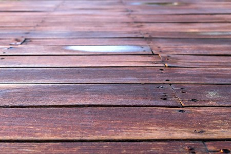 indistinct background and striped texture of old wooden boards