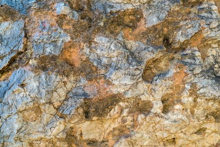 abstract texture of a stone surface closeup Stock Photo