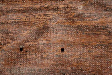 vintage texture of an old brick wall for a background or for wallpaper