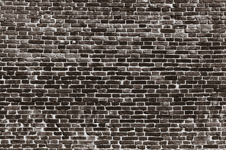shabby vintage texture of an old brick wall for a background or for wallpaper Banque d'images