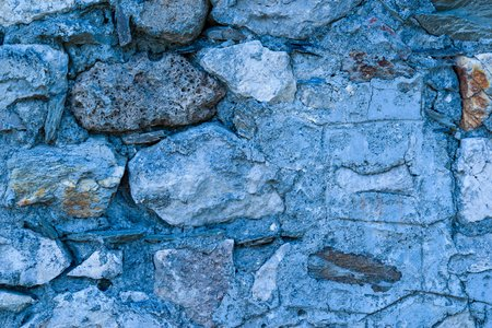 old abstract stone texture for a background of blue color