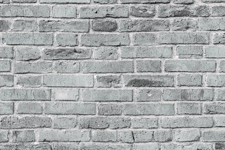 brick corrugated texture of gray white color for a background or for wallpaper