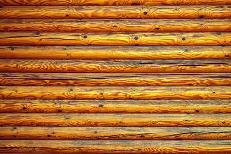 wooden texture of a timbered wall closeup for a natural background