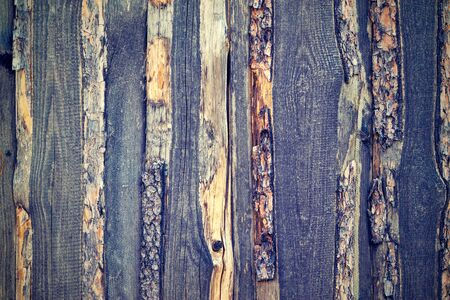the old textured background from rough wooden boards closeup for a natural background or for wallpaper in vintage style