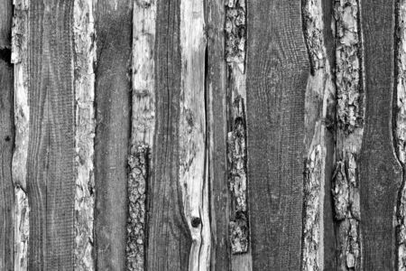 the old textured background from rough wooden boards closeup for natural vintage background or for wallpaper of monochrome tone Stok Fotoğraf