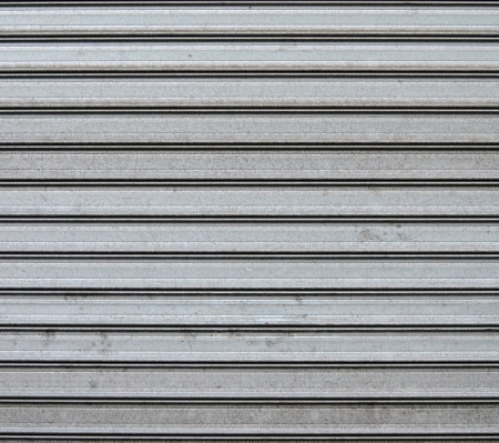 Garage metal door background photo