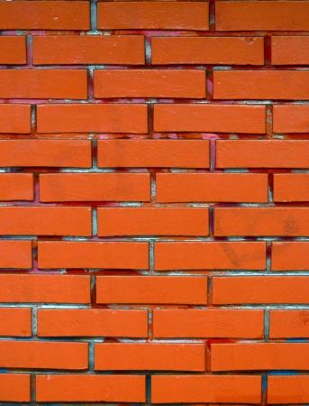 Grunge red brickwall photo