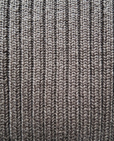 Close-up of knitted texture photo