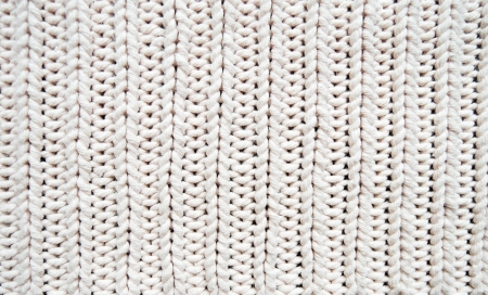White texture of knitwear photo