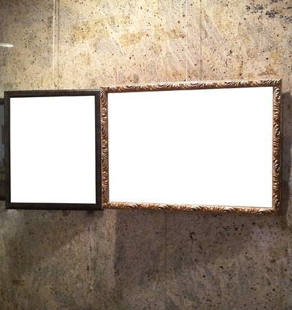 Antique frame wall photo
