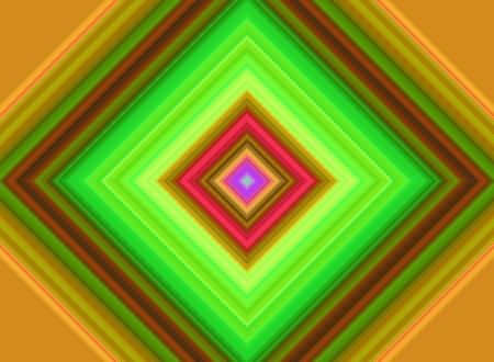 decreasing in size: Magico cubo colorato