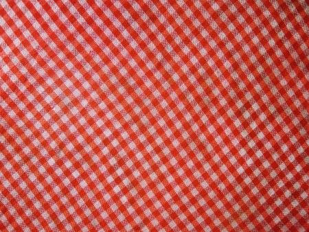 Red picnic cloth photo