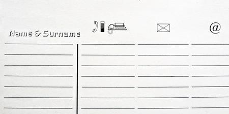 directorio telefonico: Directorio telefónico personalizado