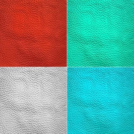 Collage of skin animal texture photo