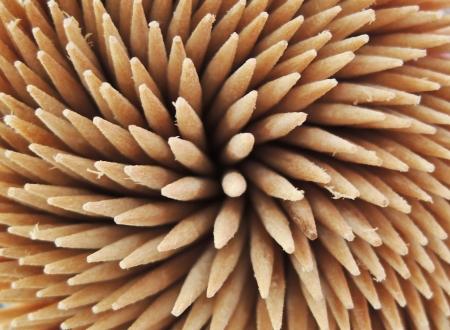 toothpicks macro Stock Photo - 21750602