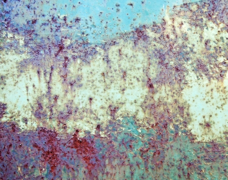 patina: Old rusted background texture Stock Photo