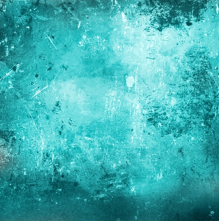 turquoise abstract grunge background