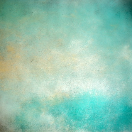 Grunge abstract turquoise background Stock Photo