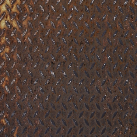 Background of metal diamond plate  Stock Photo - 22585301
