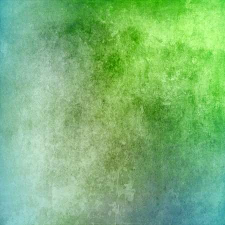 Vintage green and blue texture for background photo