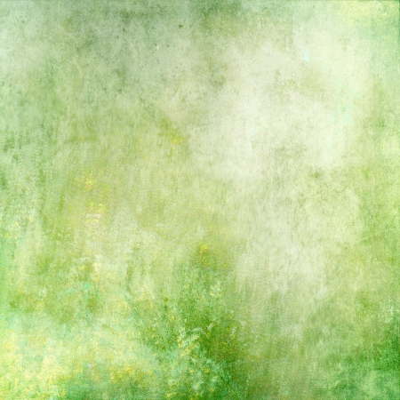spattered: Pastel anstract green texture background Stock Photo