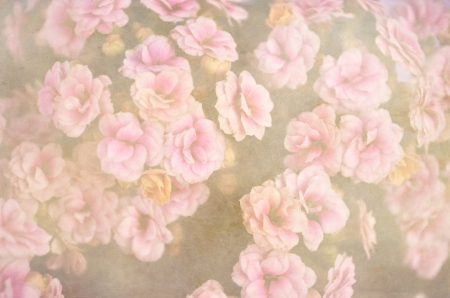 Vintage flowers background pattern