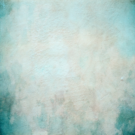 Beautiful turquoise concrete wall texture Stock Photo