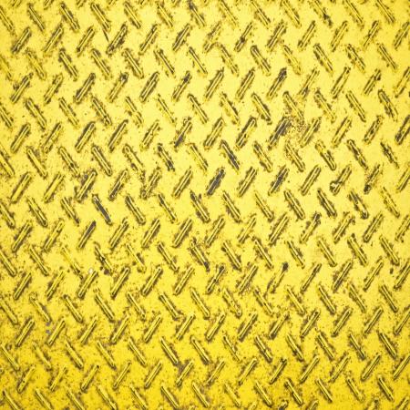 salvage yards: Seamless steel diamond plate dirty texture Stock Photo