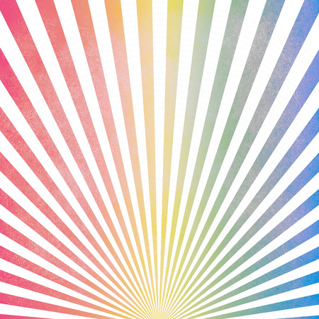 Colorful vintage ray pattern background Stock Photo