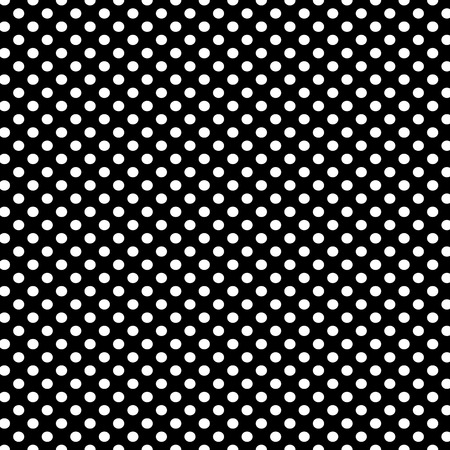Black background with white polka dots pattern Stok Fotoğraf