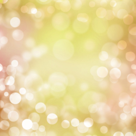 Orange pastel bokeh background