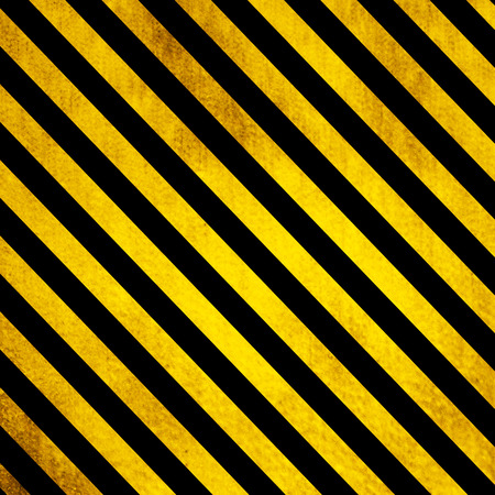 tarmac: Old Grunge background with yellow and black lines
