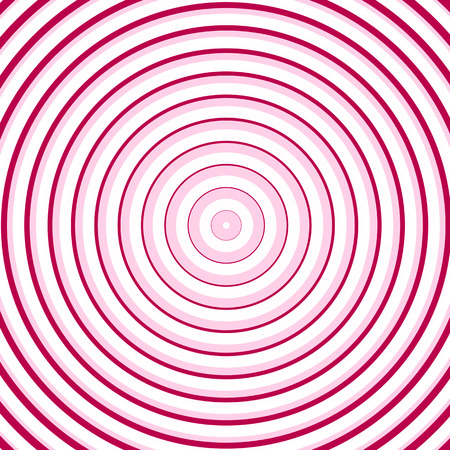 cian: Pink line circle background Stock Photo