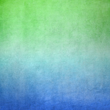 light green wall: Blue and green concrete background texture