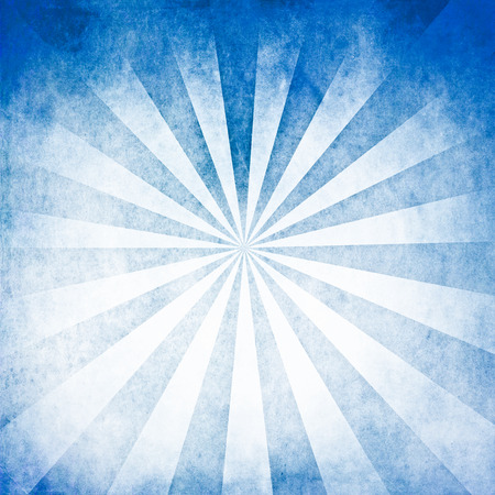 Blue rays blank background photo