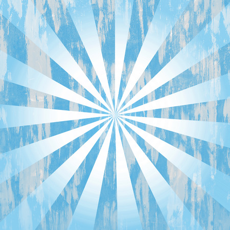 Turquoise distressed rays background photo